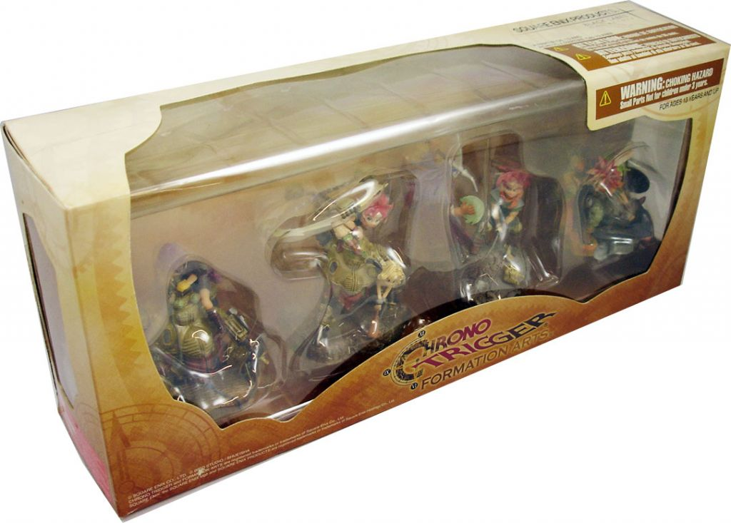 Chrono Trigger - Coffret Figurines Formation Arts - Square Enix (1)