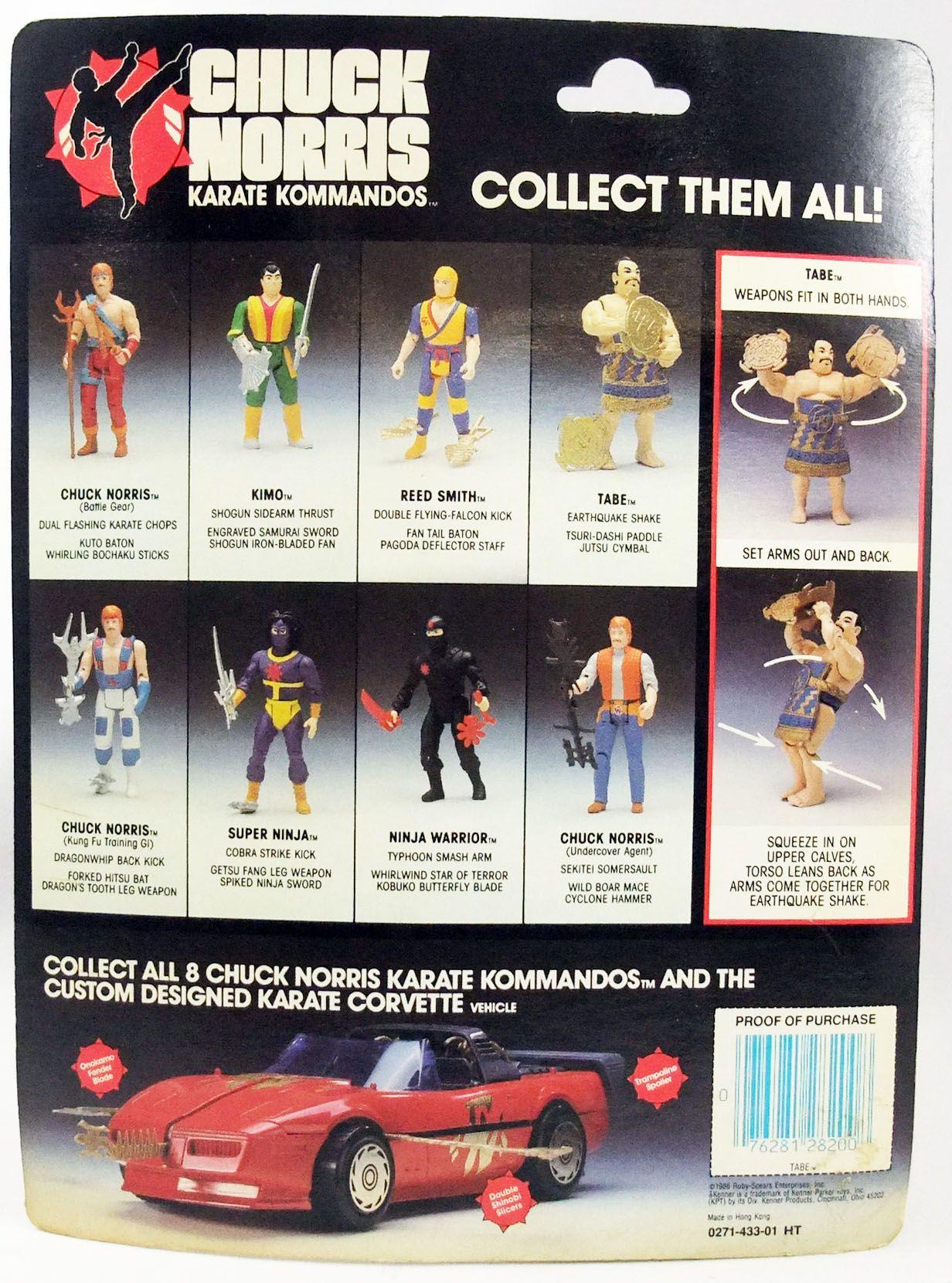 Chuck Norris Karate Kommandos - Kenner - Tabe