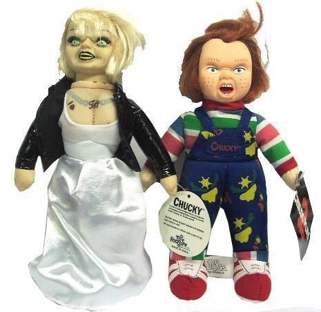 Chucky & Tiffany - Tuffed Dolls 9\'\'