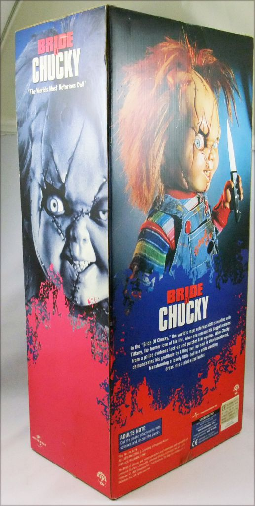 Chucky (Bride of Chucky)  -  Sideshow 18\'\' dolls