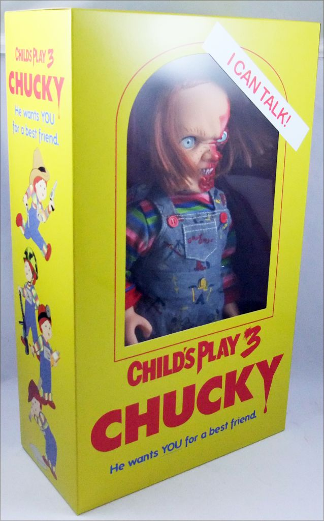 Chucky (Child\'s Play 3) - Poupée Parlante 38cm - Mezco