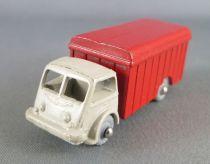 Cij Ref M3 Renault Van Truck Grey & Red Micro-Miniature