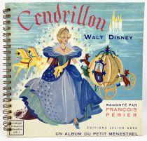 Cinderella - Record-Book 45s Le Petit Ménestrel (1955) - Story told by François Périer
