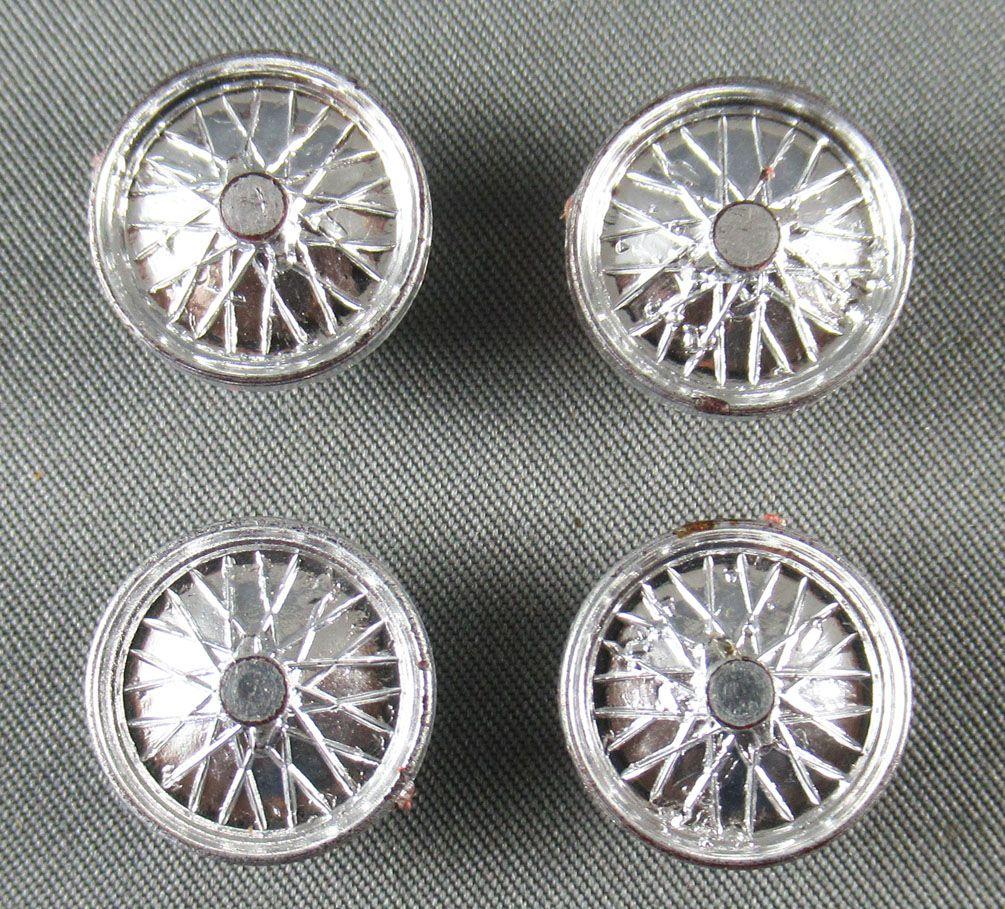 Circuit 24 - 4 Wheel Rims 15mm Mint Condition