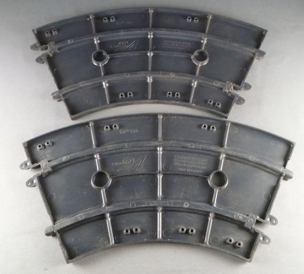 Circuit 24 - Pistes 2 Courbes 54° Rigide A1E9