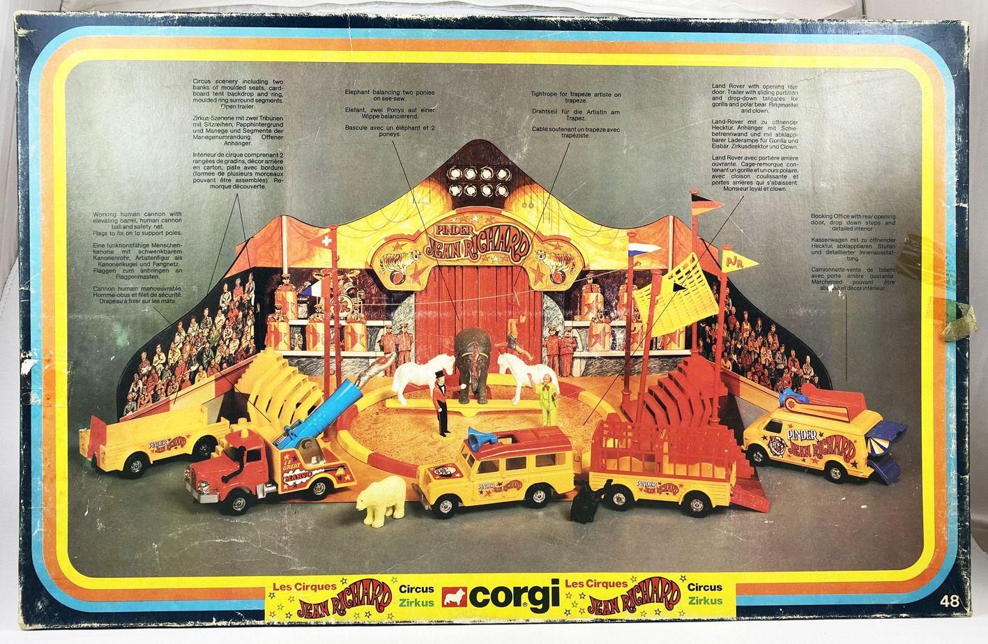 Cirque Jean Richard (Pinder) - Corgi 1979 - Le Cirque (Ref.48)