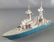 C.L. Charles Lanoy - Figurine Plomb Creux - Bateau de Guerre Croiseur 110 mm