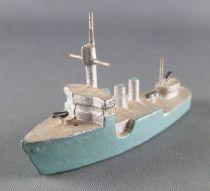 C.L. Charles Lanoy - Figurine Plomb Creux - Bateau de Guerre Torpilleur 73 mm