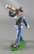 C.L. Charles Lanoy - Figurine Plomb Creux 56 mm - Marin Tenue Bleue Clairon