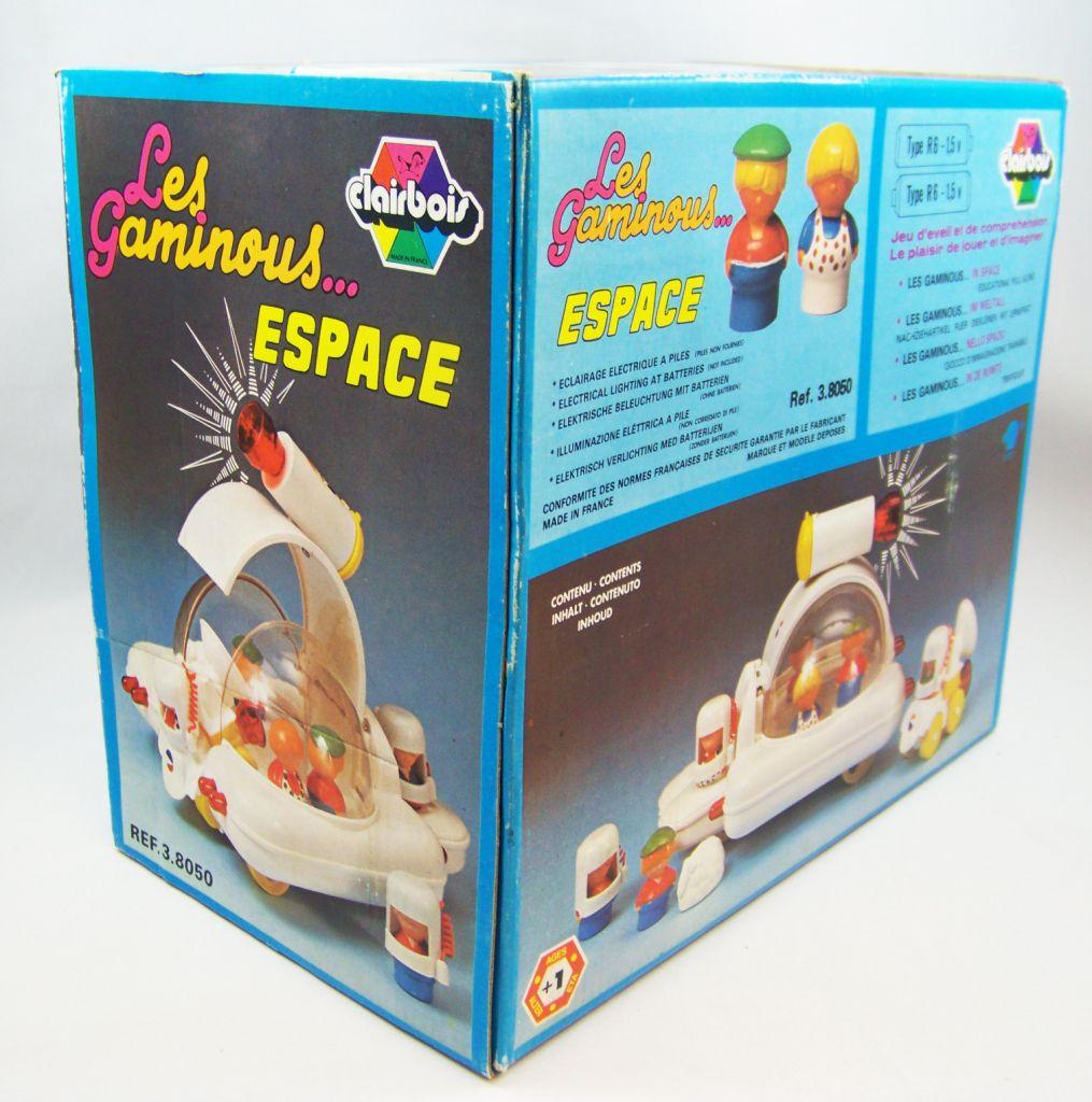 Clairbois 1980 - Les Gaminous... Dans l\'Espace (neuf en boite) 04