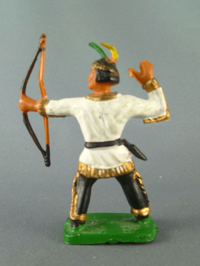 Clairet - Wild West - Indians 3rd series - Footed standing bowman