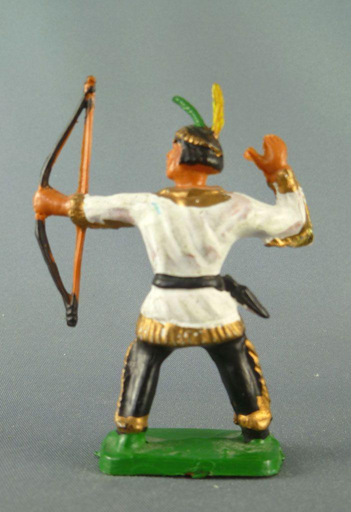 Clairet - Far West - Indiens 3ème série - Pièton tireur à l\'arc debout 2 2