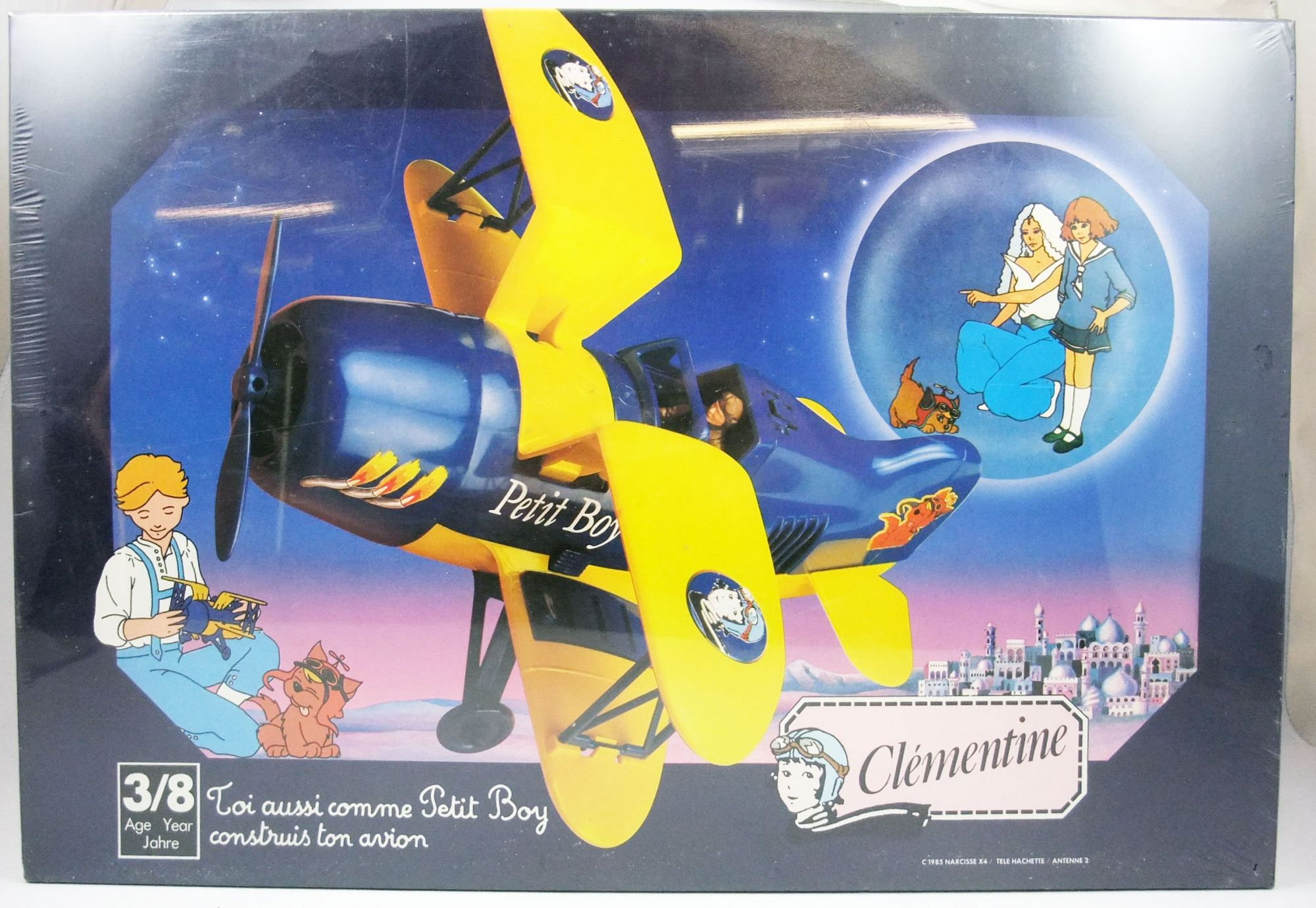 Clémentine - Avion Petit Boy - Maquette Humbol Heller