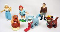 Clémentine - Figurines PVC Schleich - Set complet des 6 personnages : Héméra, Alex Dumat, Hélice, Gontran, Starlett O\'Wawa, Clém