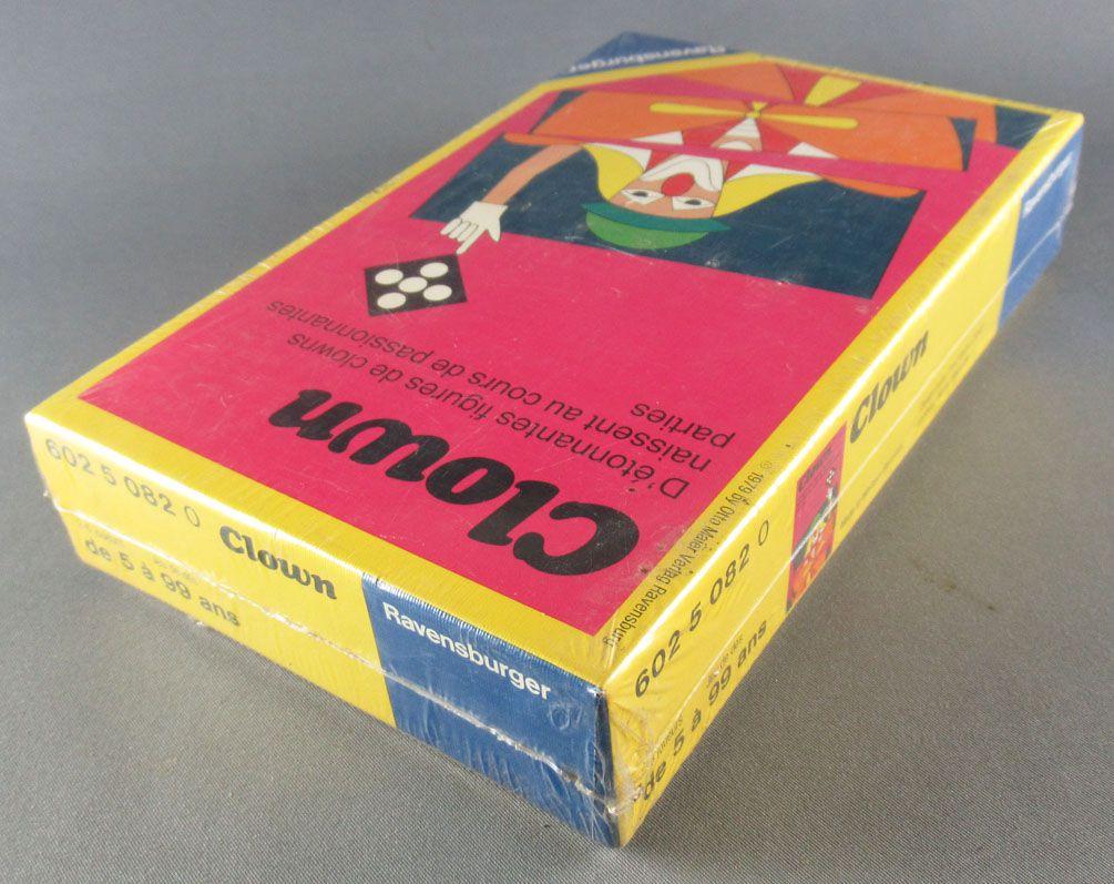 Clown - Jeu de cartes - Ravensburger 1979 Neuf Boite Scellée