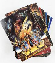 Clyde Caldwell (Fantasy Art) - FPG Trading Cards (1995) - Complet series of 90 trading cards