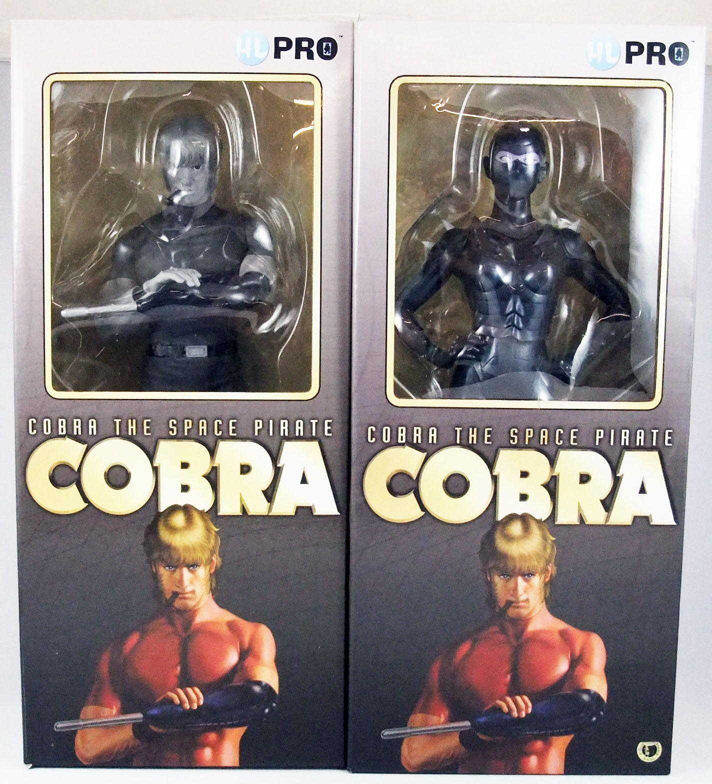 Cobra - High Dream - Cobra & Lady Armanoïd (monochome) - Figurines vinyl 30cm