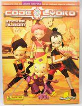 Code Lyoko - Album collecteur de vignettes Panini 2005