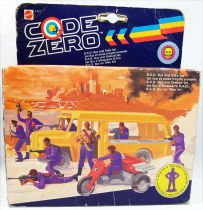 Code Zero - Mattel - B.A.D. Bus and Trike Set