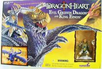 Coeur de Dragon (DragonHeart) - Kenner - Mechant Dragon Griffon & Roi Einon