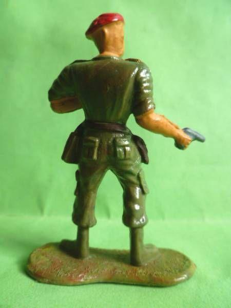 Cofalu - 54m - Modern Army - Paratroopers - Officer binoculars & pistol