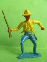Cofalu - 54m - Western - Cow-Boy - Footed brandishing rifle