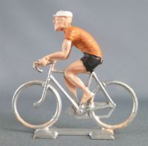 Cofalu (60\'s) -Cyclist (plastic) - Racing Orange Team