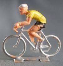 Cofalu (60\'s) -Cyclist (plastic) - Yellow Jersey