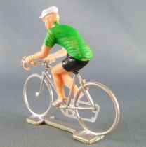 Cofalu (70\'s) - Cycliste (plastic) - Green jersey
