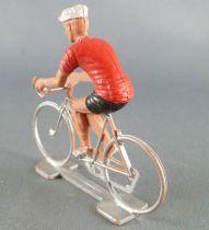 Cofalu (70\'s) - Cycliste (plastic) - Red jersey