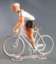 Cofalu (Années 60) - Cycliste plastique - Equipe Allemagne en danseuse