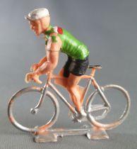 Cofalu (Années 60) - Cycliste plastique - Equipe Italie en danseuse
