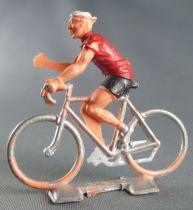 Cofalu (Années 60) - Cycliste plastique - Equipe Suisse bras droit levé
