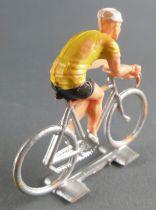 Cofalu (Années 60) - Cycliste plastique - Maillot Jaune