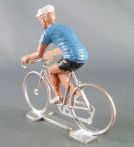 Cofalu (Années 70) - Cycliste plastique - Maillot Bleu