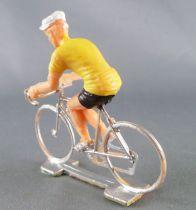 Cofalu (Années 70) - Cycliste plastique - Maillot Jaune