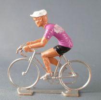 Cofalu (Années 70) - Cycliste Plastique - Maillot Mauve