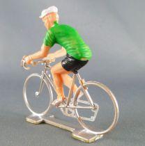 Cofalu (Années 70) - Cycliste plastique - Maillot Vert