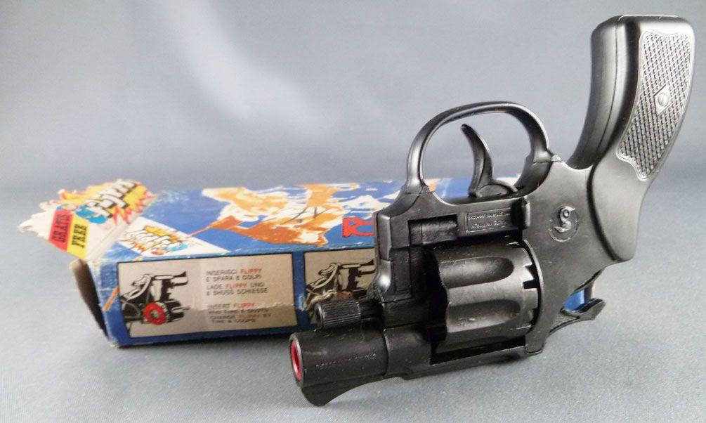 "Colibri Pistolet à amorces \""Flippy\"" - Edison Giocattoli Réf 125 - Neuf Boite"