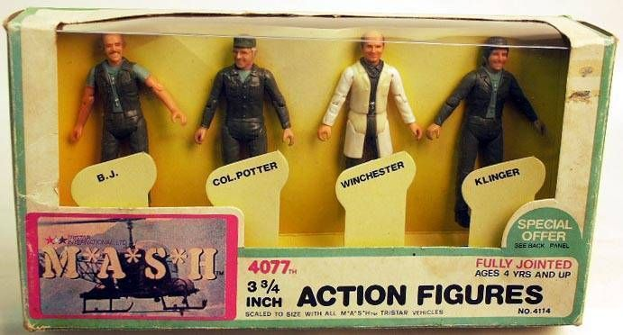 Collector set 4 action figures Mego