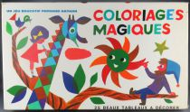 Coloriages Magiques - Educative Game - Fernand Nathan 1970\'s 1