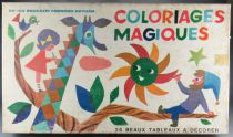 Coloriages Magiques - Educative Game - Fernand Nathan 1970\'s 2