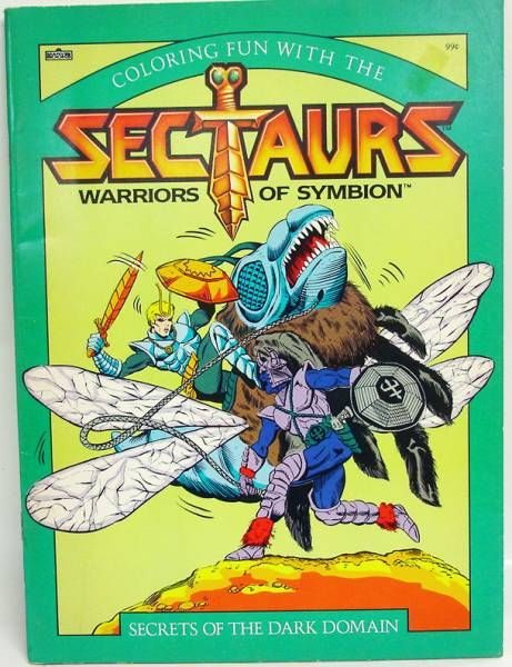Sectaurs Warriors of Symbion - Marvel - Coloring Book \