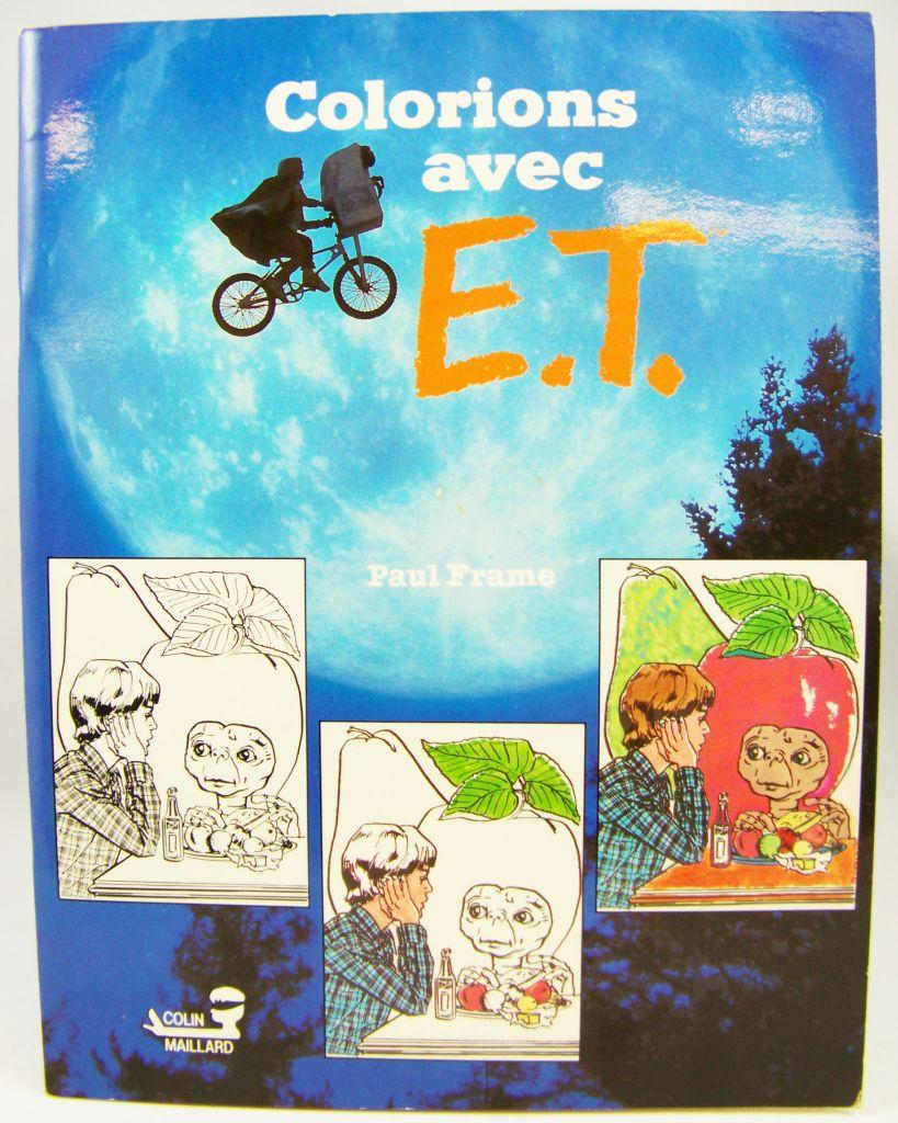 Colorions avec E.T. - Album de coloriage (Colin Maillard 1982) 01