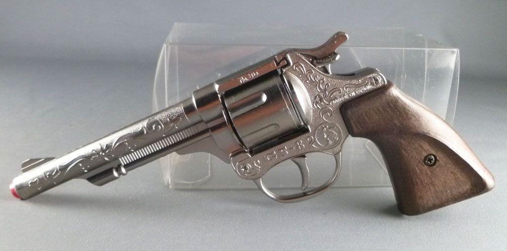 Colt Pistolet à amorces GS-8 N° 80 - Gonher Espagne Embout Rouge
