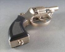 Colt Police Pistolet à amorces - 8 Coups Chromé