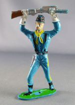 Comansi - Wild West - Federates Us Cavalry - Footed Rifle above the head