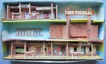 Comansi 171 - Far-West - Tout l\'Ouest Américain Coffret 3 Etages Village Cow-boy en Boite