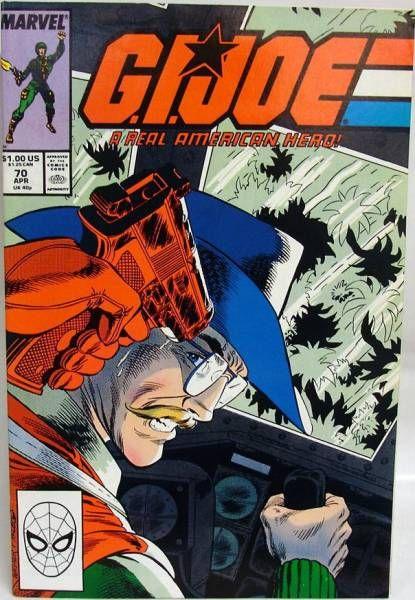 Comic Book - Marvel Comics - G.I.JOE #070