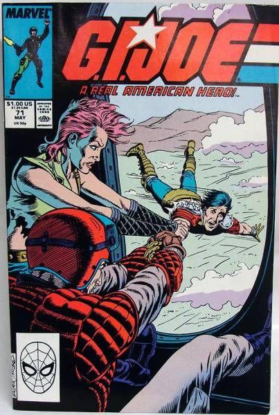 Comic Book - Marvel Comics - G.I.JOE #071